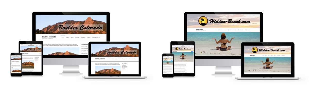 responsive, website, design